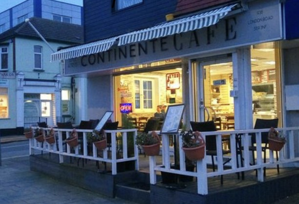 Continente Cafe, Leigh-on-Sea, Essex, Baby Eats Out