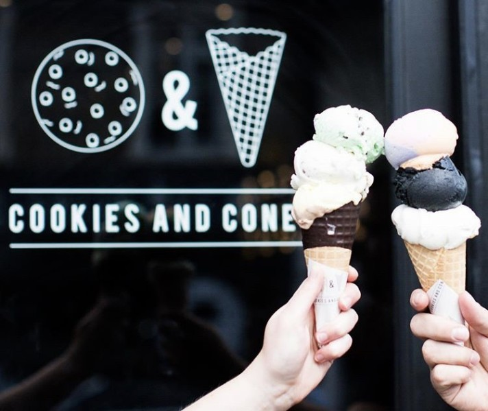 Cookies and Cones, Leigh-on-Sea, Essex, Baby Eats Out