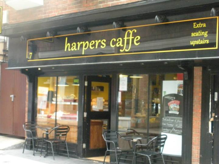 Harpers Caffe, Colchester, Essex, Baby Eats Out